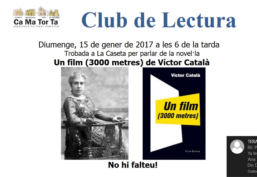 cartell club lectura